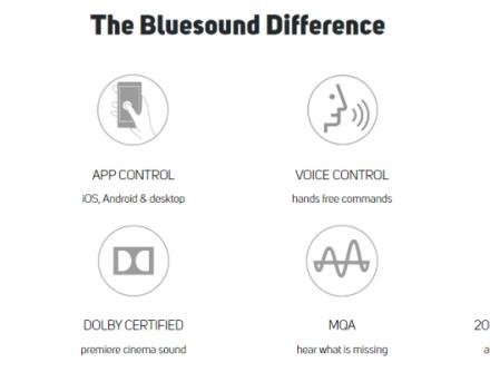 Wat maakt Bluesound verschillend ?