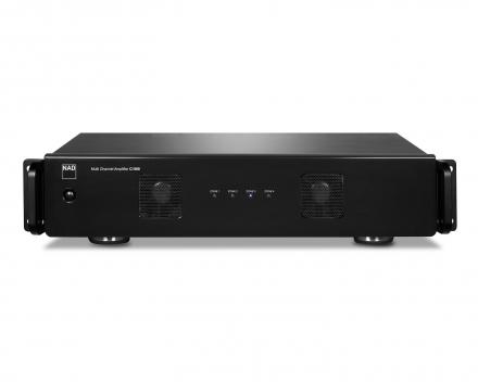 NAD CI980 8 kanaals eindversterker voor integratie multiroom stereo of in surround installaties.