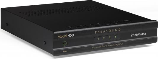 Parasound ZM450 compacte multifunctionele vierkanaalsversterker