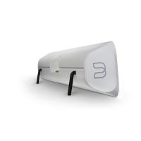 Bluesound Soundbar : met pootjes kan ook aan de muur worden gemonteerd