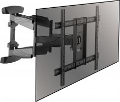 Beugels en staanders Beugel met dubbele arm voor stabiele beweging van uw televisietoestel