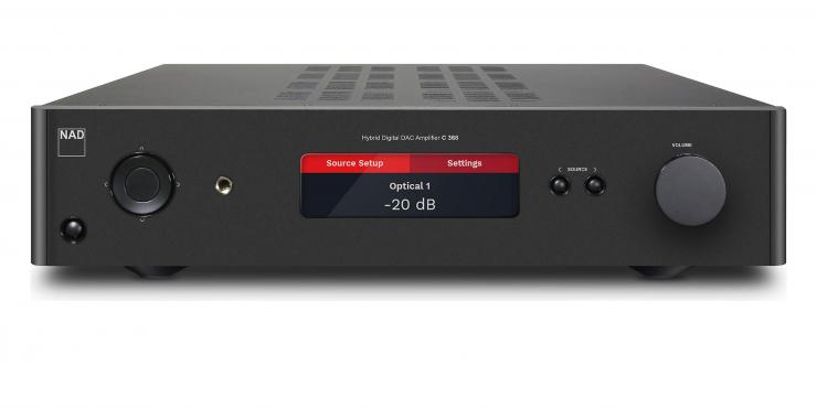 NAD Stereo met Bluos module